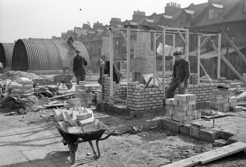 Construction in Britain after WW2